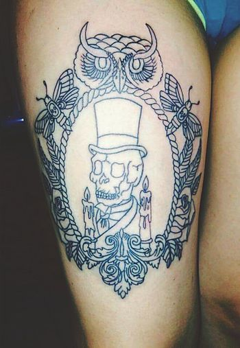 I Love It ❤ My Tattoo New Tattoo Tattoo Owl Skull Baron Samedi Owl Tattoo Skull Tattoo