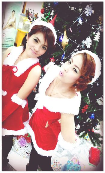 Cheese! Mery Christmas Chilling With Nong Oom Goodnight ♡