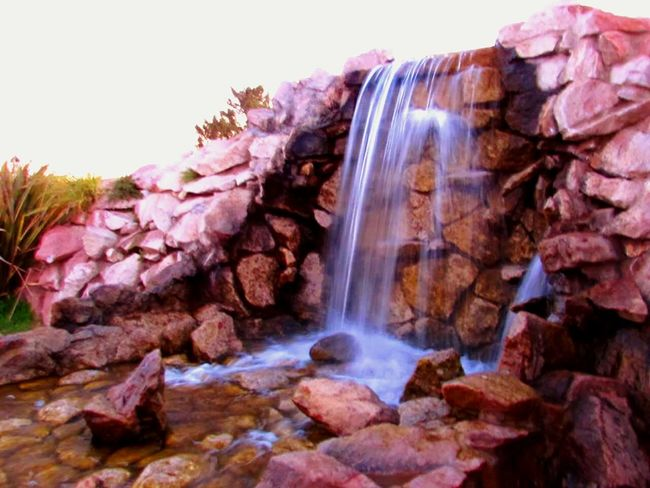 Waterfall Long Exposure Water Beauty In Nature Power In Nature Falling Water Day Rock Formation Scenics