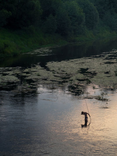 Russia, Moscow, summer, fishing, the river Dubna Beauty In Nature Day Idyllic Landscape Nature No People Non Urban Scene Non-urban Scene Outdoors Remote Rippled Rock - Object Rock Formation Russia, Moscow, Summer, Fishing, The River Dubna Scenics Tranquil Scene Tranquility Water