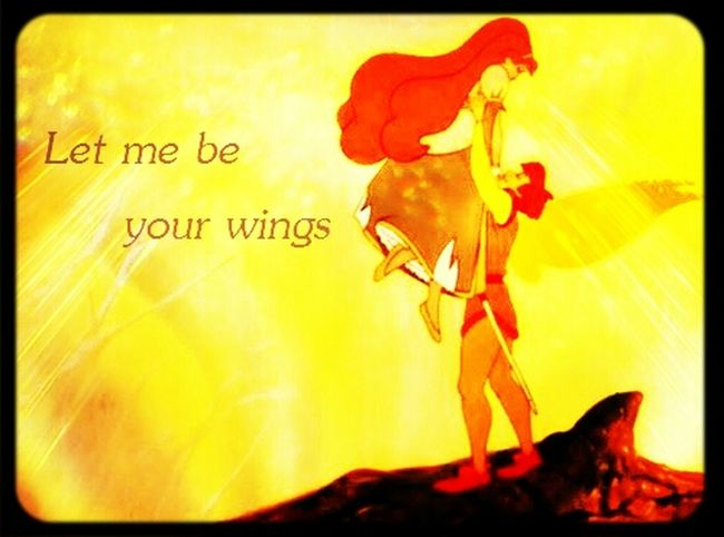 Let Me Be Your Wings♥