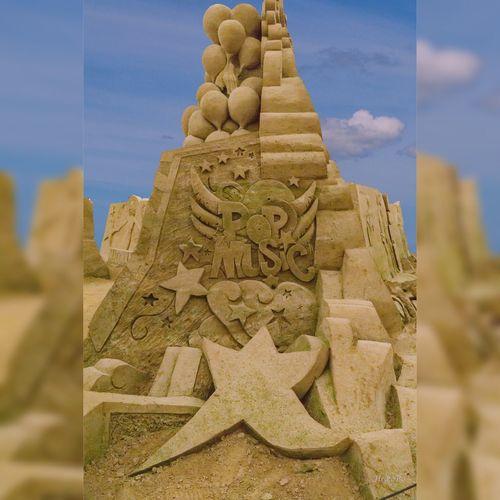 Pop Musik Heikobo Sand Sandskulpturen Sandskulpturenfestival Binz Binz Auf Rügen Binz, Germany Ostsee Ostseebad Binz Strand Rügen Inselruegen Kunst Popmusik Kunstwerk