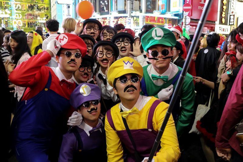 Halloween EyeEm EyeEm Best Edits Happy Halloween! Halloween Costumes Halloween Tokyo Street Night Photography Halloweenmakeup Streetphotography From My Point Of View Halloween2015 Street Photography