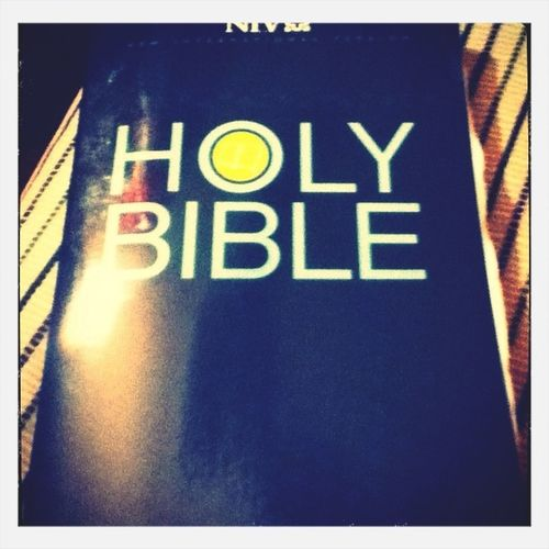 I Need A Picture For This So Here's A Random Picture Of My Bible I Got For Halloween. Jesus Ftw