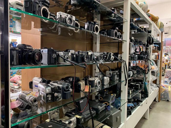 Full frame shot of industry