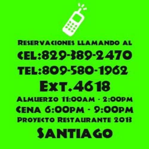AQUIII------> Proyectorestaurante2013 Teesperamos Reservaya Abiertodesdeel16deoctubre dale llamanos notelopierdas leelo leelo leelo