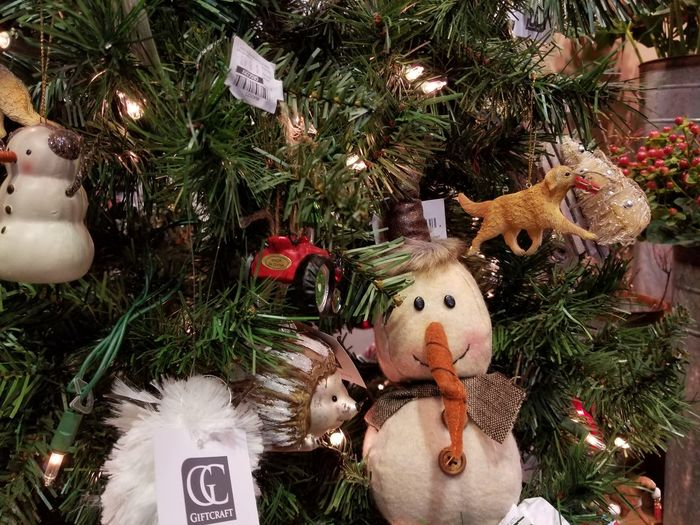 Christmas Christmas Tree Christmas Decoration Celebration Christmas Ornament Tradition Decoration Celebration Event Tree Human Representation Close-up Hanging Religion Vacations Snowman No People Cultures Christmas Lights Indoors  Holiday - Event