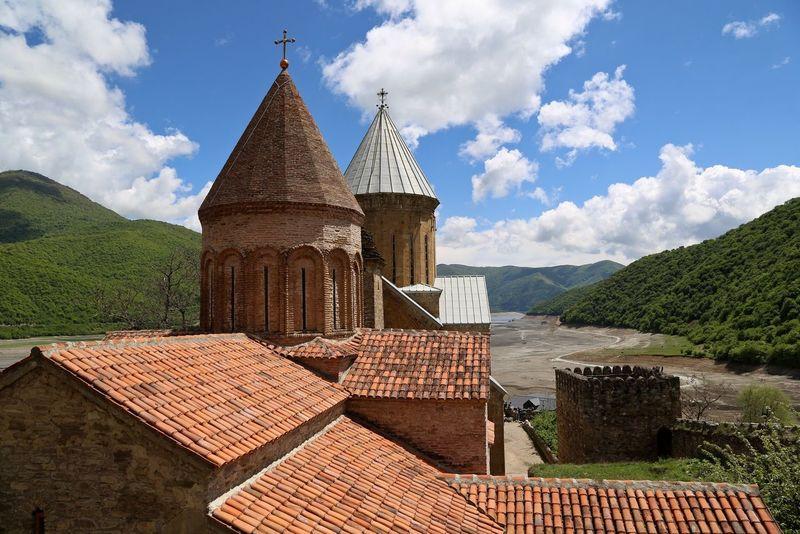 Georgia Church Architecture Ananuri