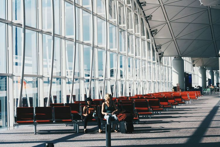 Travel On The Road Airport People Light And Shadow Starting A Trip The Traveler - 2015 EyeEm Awards