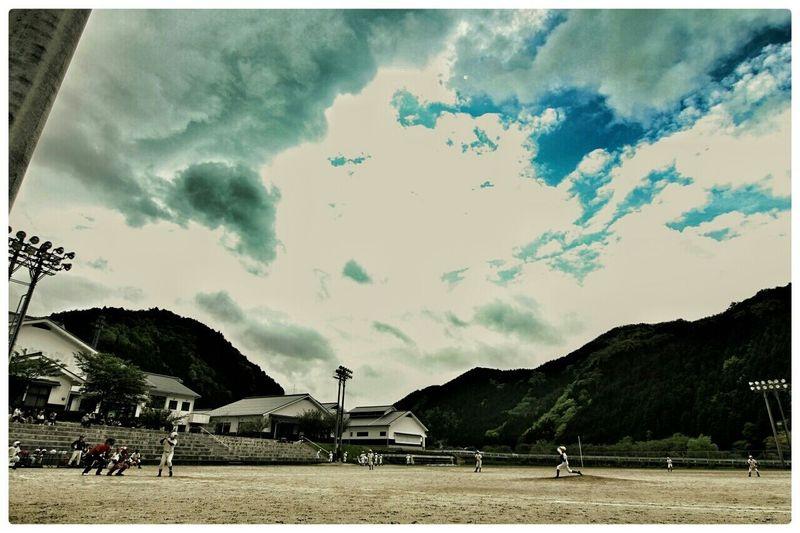 今日は、うちの1stの野球の試合。かっ飛ばしたれ(笑) Baseball Junior High School