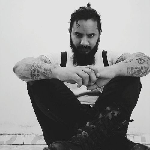 Tattoomodels Tattooed Tattoo Beard Bearded