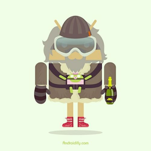 Myandroid Androidify Art Hat choice