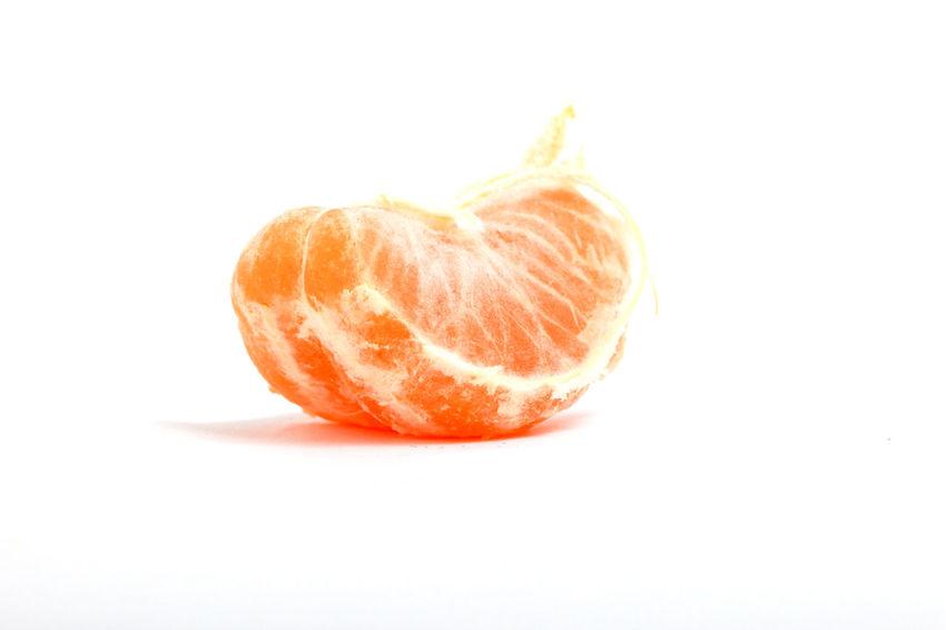 orange Close-up Food Food And Drink Freshness Fruit Halved Healthy Eating No People Orange Orange - Fruit Studio Shot White Background
