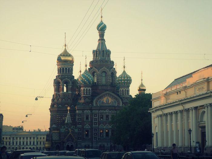 @Saint-Petersburg Architecture Built Structure City City Street No People Sky Tourism СпасНаКрови