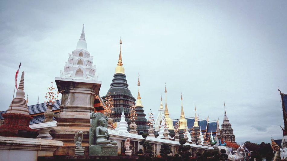Buddha Image วัด พระ Buddha Statue Buddhist Temple TempleThailand Temple Buddha Thailand Thai วัดบ้านเด่น เชียงใหม่ WatBanDen Chengmai Chengmai Thailand City History