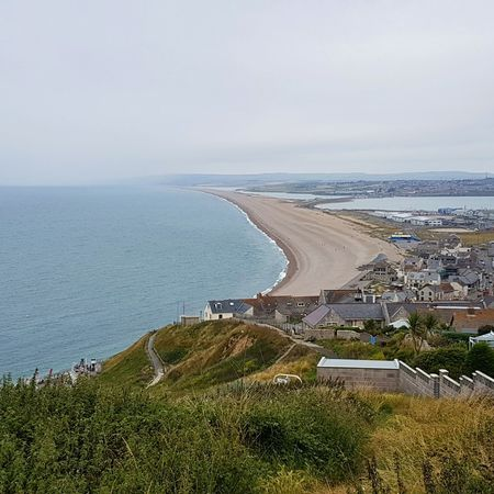 Chesil Beach Chesil Portland Dorset Shingle Beach Shingle Bank Sea View... Love It!