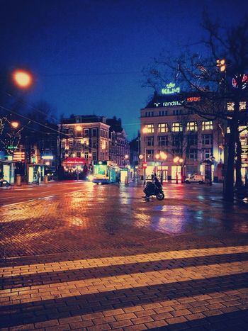 Lovely empty square. Leidseplein Citylife Amsterdam Cities At Night Tram Square City Life Streetphotography Walking Around