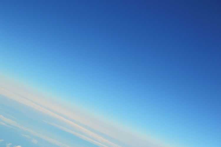 Blue Wave Coming Home Blue Sky Sky Skyporn Aerial Shot Aeroplane Above The Clouds Diagonal Simplicity Atmosphere Flying High Nikon D3200