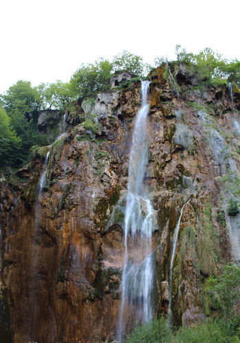 Croatia Djmarcop Trip Travel Destinations Outdoors No People Beauty In Nature Nature Day Waterfall Rock - Object Motion Cliff Tree Water Scenics Sky
