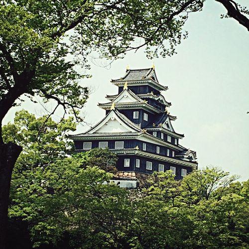 Okayama Castle, Japan Okayama,Japan Japan architecture