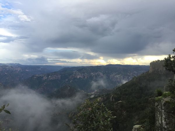 Copper Canyon Creel Chihuahua Mexico Cloud - Sky