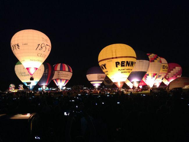 Bristol Balloon Fiesta night Glow Hot Air Balloons Bristol Balloon Fiesta Night Glow