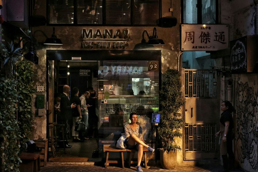 🗣:) This is the atmosphere in Hongkong. (Central - Stanley st.) Hanging Out Taking Photos Hello World From My Point Of View Showcase May Our Best Pics Urban Exploration EyeEmbestshots Eyeemphotography Conon Q The Week Of Eyeem The Street Photographer - 2016 EyeEm Awards EyeEm Gallery Canon Canonphotography Eye4photography  Streetphotography EyeEmBestPics Everybodystreet Urban Spring Fever Cities At Night The Great Outdoors With Adobe Things I Like