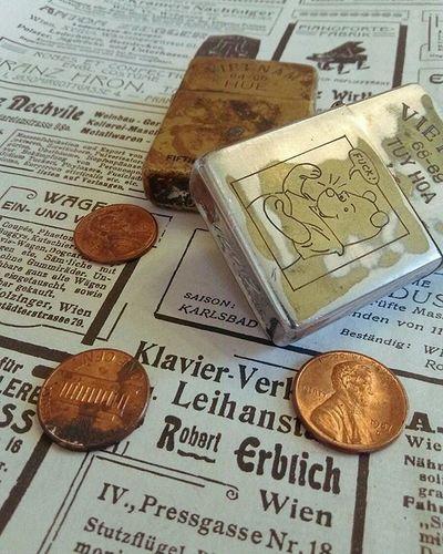 Zipoo ライター ぷーさん ぷーさん 新聞紙 Paper コイン Coin Coins くまのプーさん Lighter Lighters Winniethepooh くまのプーさん Zipoolighter