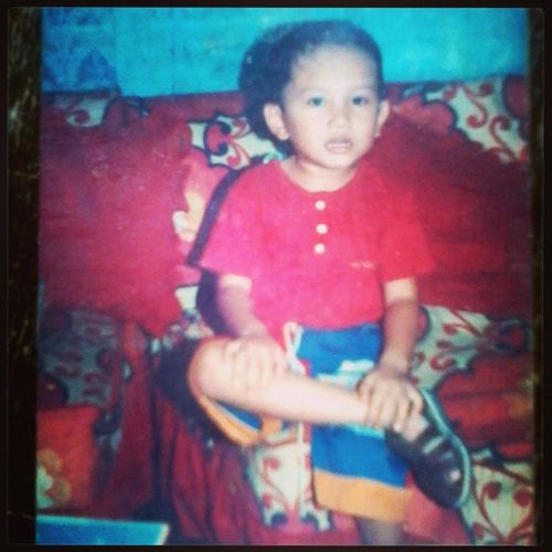Do I Really Cute On This Picture Of Mine When I Was A Child ?!? - I think I am still 5 years Old at this ... Throughback MemorySunday LifeBefore YoungerYears LifeAsAChild RememberringThePast LifeAfterYears