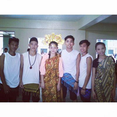 With macho gwapitos. HAHA! Boc Jess RUEL BAM