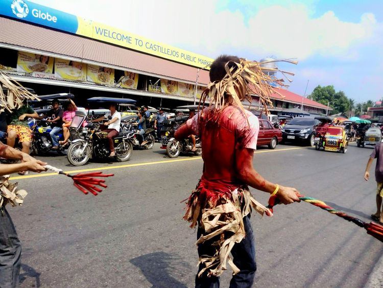 """""""Penitensya"""" is a tradition in the Philippines every Good Friday. Clos Up Close Street Photography Blood Philippines Holy Week Tradition"""