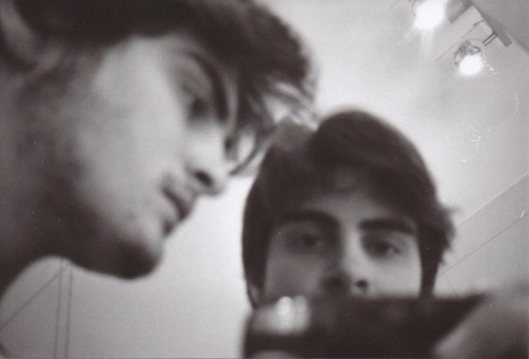 Me, myself and I Reflection Close-up Indoors  People Filmphotography Low Angle View Bnw Blackandwhite Portrait