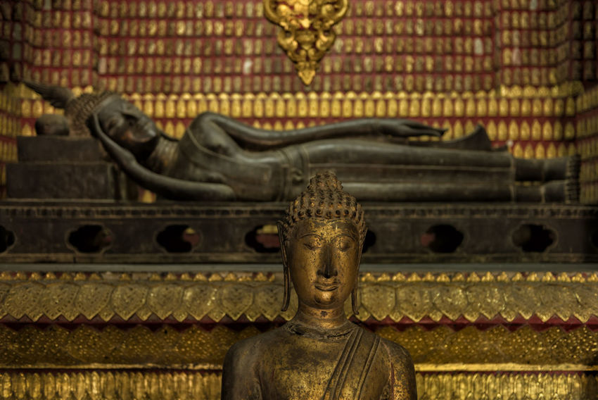 Inner Peace Buddha Buddhas Calmness Devotion EyeEm Best Shots Golden Meditation Peace Statue Tranquility Buddha Statue Buddhism Buddhist Temple Cultures Human Representation Inner Peace No People Peaceful Place Of Worship Reclining Reclining Buddha Religion Resting Sculpture Spirituality An Eye For Travel