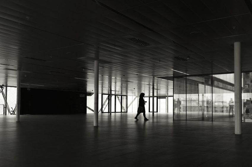 Silhouette Blackandwhite Black & White Darkness And Light Backlight I Love My City Minimalism