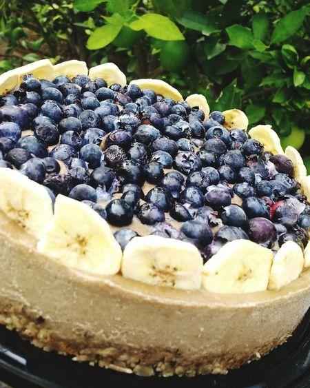 Raw pie Sweet Food Dessert Indulgence Food Food And Drink Freshness Fruit Temptation Blueberry Tart - Dessert No People Sweet Pie Raw Food VeganDessert Healthy Eating EyeEmNewHere