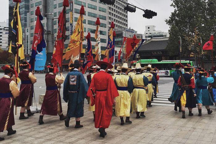 In Korea Seul Photographer Autumn🍁🍁🍁 Photography Korean Hanbok Warrior
