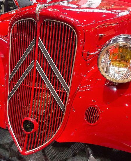 Red Car Old Car