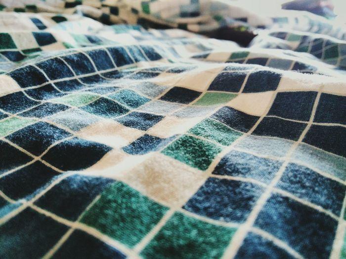 Close-up of bed sheet