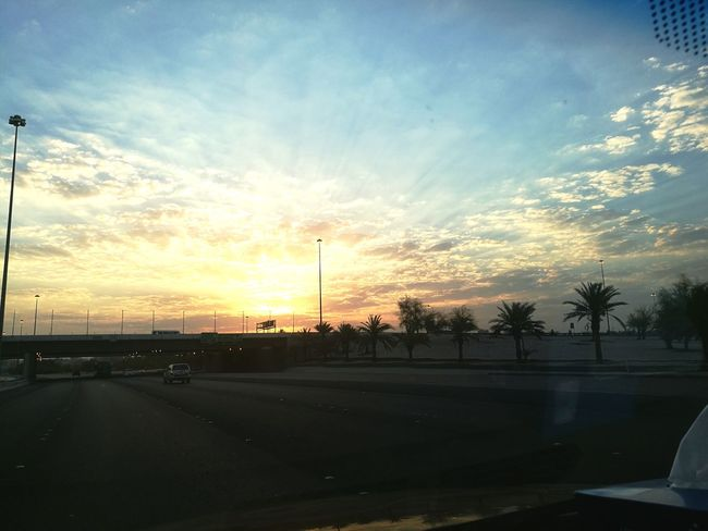 Cloud - Sky Sky Happy Natrue Outdoors Sunrise Morning Sky Morning Sun Kuwaitstreetphotography Kuwaitsky The Week On EyeEm