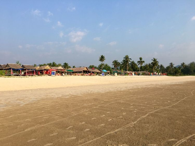 Sand Beach Day Sky Vacations Outdoors Tree Nature Large Group Of People Beach Volleyball Beauty In Nature People Thailand Thailand_allshots