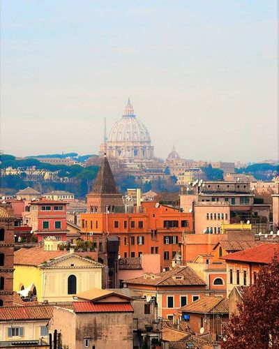 Roma Rome San Pietro San Pietro View Case Houses Roofs Rooftops Eyeem Architecture Lover Cityscape