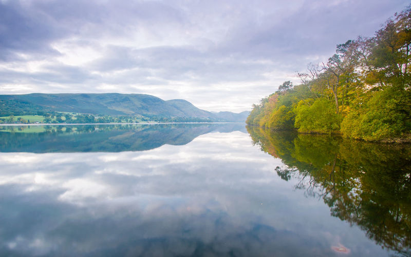 Lake District Ullswater Beauty In Nature Cloud - Sky Day Environment Idyllic Lake Lake District# Landscape Mountain Nature No People Non-urban Scene Outdoors Plant Reflection Scenics - Nature Sky Tranquil Scene Tranquility Water