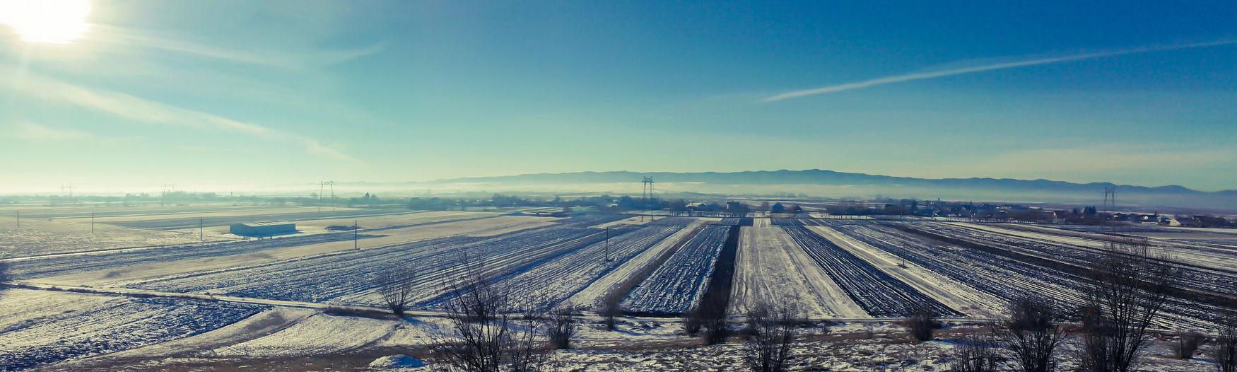 Sky Landscape Nature Canon5Dmk3 Winter Snow ❄ Grass Cloud - Sky Morning Mountains Freshness