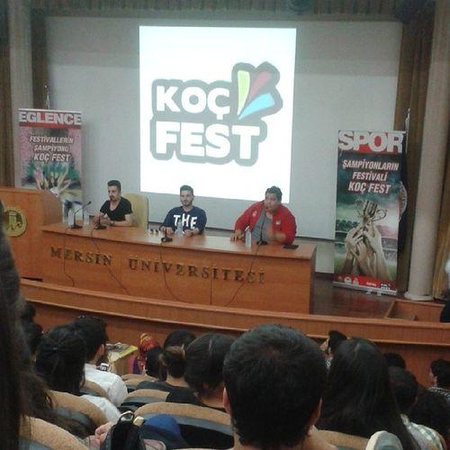 Kocfest Halilsoyletmez Vine Mersin üniversitesi