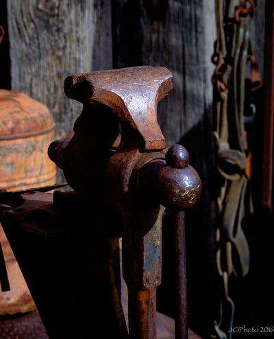 Antique Close-up Machine Part Metal Old Rusty Strength Visé
