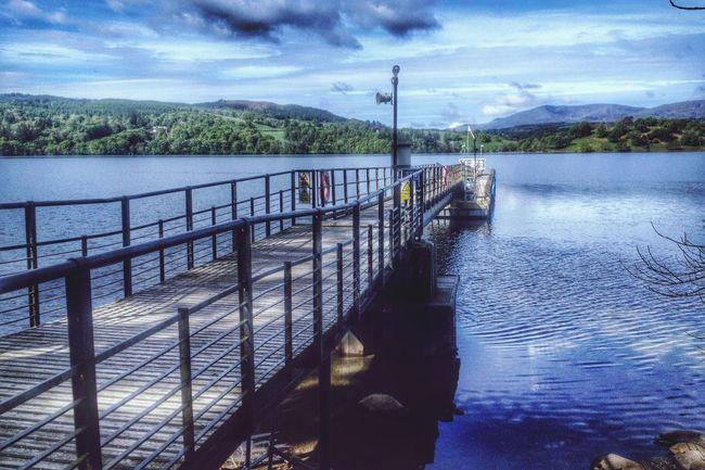 Water Lake Pier Windermere