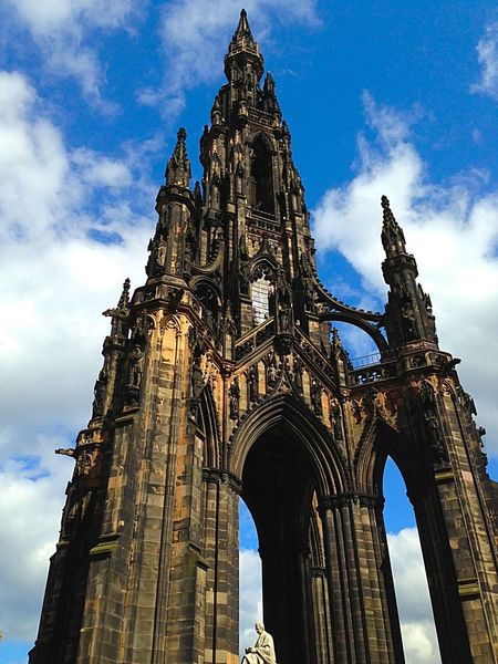 Ancient Civilization Art ArtWork Arty Edinburgh Historical Monuments History Magnificent Monument Princes Street Scotland Scott Monument Tall