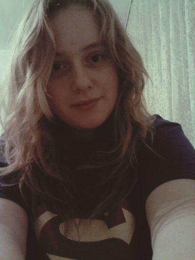 Teen Curlyhair Superman Shirt