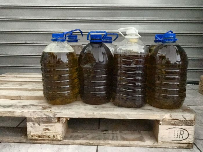 Used cooking olive oil recycling Oil Recycle Used Oil Pet Bottle Euro Pallet Recycle Oil Waste Olive Oil Green Environment