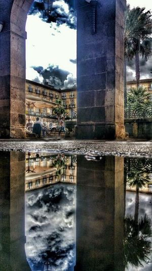 Water Reflections Basque Country Architecture North Of Spain Monument Streetphotography Antique